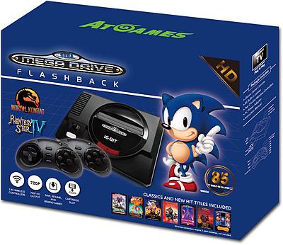 Einfach und sicher online bestellen: SEGA Mega Drive Flashback HD uncut Edition in Österreich kaufen.