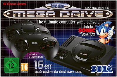 Einfach und sicher online bestellen: SEGA Mega Drive Mini in Österreich kaufen.