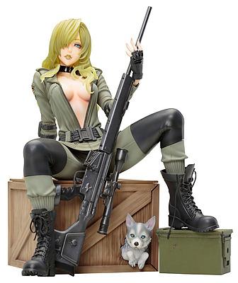Einfach und sicher online bestellen: Metal Gear Solid 5 Bishoujo Statue Sniper Wolf in Österreich kaufen.