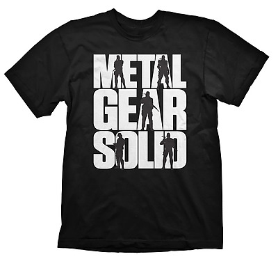 Einfach und sicher online bestellen: Metal Gear Solid T-Shirt Logo L in Österreich kaufen.