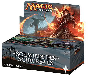 Einfach und sicher online bestellen: Magic the Gathering Schmiede des Schicksals in Österreich kaufen.