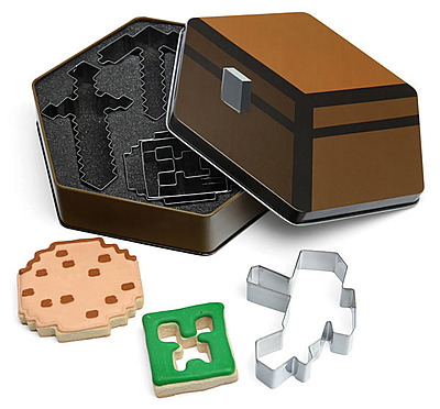 Einfach und sicher online bestellen: Minecraft Ausstechformen 5er-Pack in Österreich kaufen.