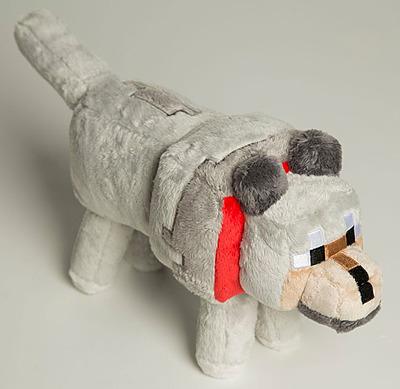 Einfach und sicher online bestellen: Minecraft Plüschfigur Wolf in Österreich kaufen.