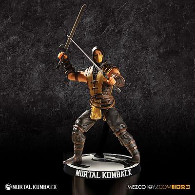 Einfach und sicher online bestellen: Mortal Kombat X Actionfigur Scorpion 10 cm in Österreich kaufen.
