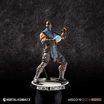Einfach und sicher online bestellen: Mortal Kombat X Actionfigur Sub Zero 10 cm in Österreich kaufen.