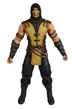 Einfach und sicher online bestellen: Mortal Kombat X Actionfigur Scorpion 15 cm in Österreich kaufen.