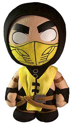 Einfach und sicher online bestellen: Mortal Kombat X Plüschfigur Scorpion 20cm in Österreich kaufen.