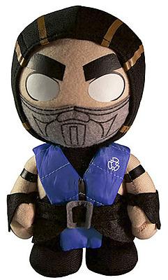 Einfach und sicher online bestellen: Mortal Kombat X Plüschfigur Subzero 20cm in Österreich kaufen.