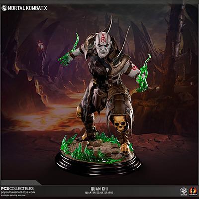 Einfach und sicher online bestellen: Mortal Kombat X Statue Quan Chi 1/4 in Österreich kaufen.