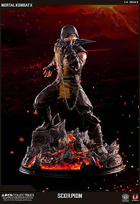 Einfach und sicher online bestellen: Mortal Kombat X Statue Scorpion 1/4 in Österreich kaufen.