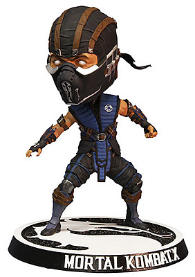 Einfach und sicher online bestellen: Mortal Kombat X Wackelkopf-Figur Subzero 15cm in Österreich kaufen.