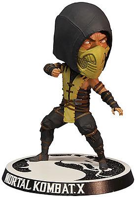 Einfach und sicher online bestellen: Mortal Kombat X Wackelkopf-Figur Scorpion 15cm in Österreich kaufen.