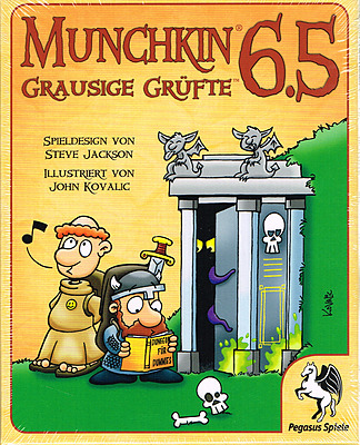 Einfach und sicher online bestellen: Munchkin 6,5: Grausige Grüfte in Österreich kaufen.