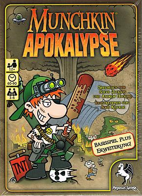 Einfach und sicher online bestellen: Munchkin Apokalypse 1+2 in Österreich kaufen.