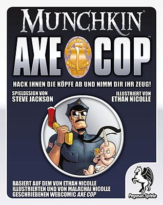 Einfach und sicher online bestellen: Munchkin Axe Cop in Österreich kaufen.