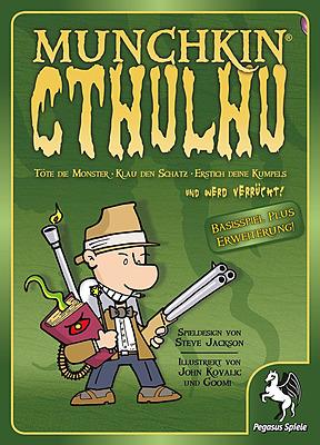 Einfach und sicher online bestellen: Munchkin Cthulhu 1+2 in Österreich kaufen.