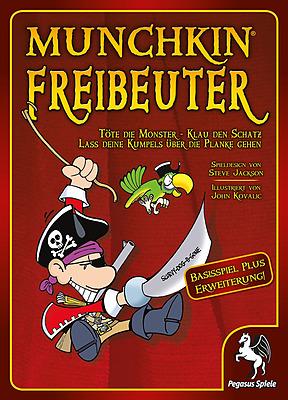 Einfach und sicher online bestellen: Munchkin Freibeuter 1+2 in Österreich kaufen.