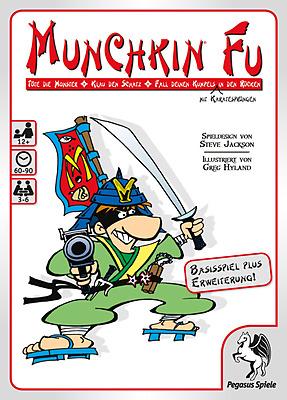 Einfach und sicher online bestellen: Munchkin Fu 1+2 in Österreich kaufen.