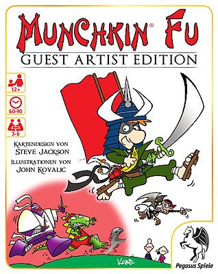 Einfach und sicher online bestellen: Munchkin Fu Guest Artist Edition (Kuvalic) in Österreich kaufen.