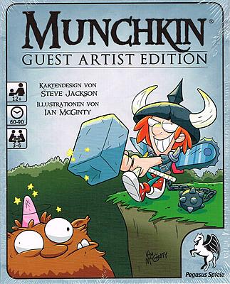 Einfach und sicher online bestellen: Munchkin Guest Artist Edition (McGinty-Version) in Österreich kaufen.