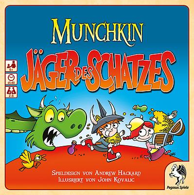 Einfach und sicher online bestellen: Munchkin Jäger des Schatzes in Österreich kaufen.