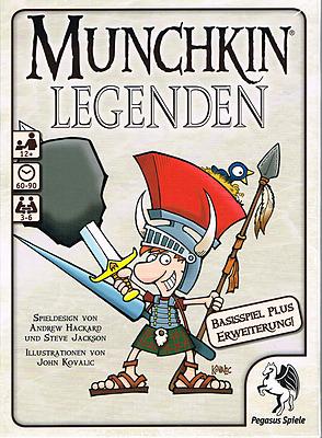 Einfach und sicher online bestellen: Munchkin Legenden 1+2 in Österreich kaufen.
