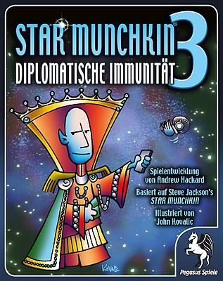 Einfach und sicher online bestellen: Star Munchkin 3: Diplomatische Immunität in Österreich kaufen.