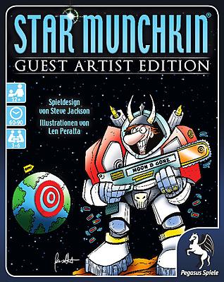 Einfach und sicher online bestellen: Star Munchkin Guest Artist Edition (Peralta) in Österreich kaufen.