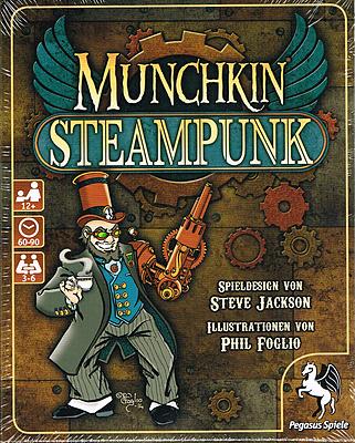 Einfach und sicher online bestellen: Munchkin Steampunk in Österreich kaufen.