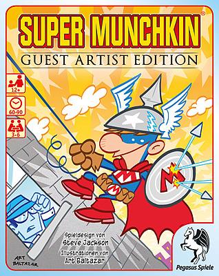Einfach und sicher online bestellen: Super Munchkin Guest Artist Edition in Österreich kaufen.
