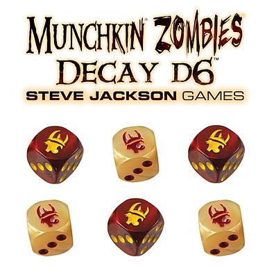 Einfach und sicher online bestellen: Munchkin Zombies Decay D6 (US-Import) in Österreich kaufen.