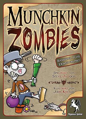 Einfach und sicher online bestellen: Munchkin Zombies 1+2 in Österreich kaufen.