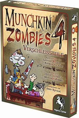 Einfach und sicher online bestellen: Munchkin Zombies 4: Verschleißteile in Österreich kaufen.