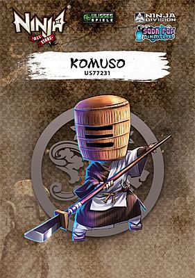 Einfach und sicher online bestellen: Ninja All-Stars Komuso in Österreich kaufen.