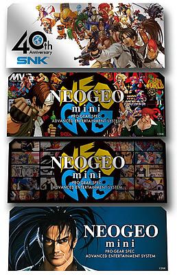 Einfach und sicher online bestellen: Neo Geo Mini Charakter Stickers in Österreich kaufen.