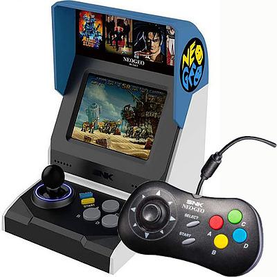 Einfach und sicher online bestellen: Neo Geo Mini International +Neo Geo Mini Pad black in Österreich kaufen.