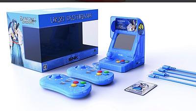 Einfach und sicher online bestellen: Neo Geo Mini Samurai Shodown blau in Österreich kaufen.