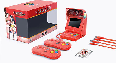 Einfach und sicher online bestellen: Neo Geo Mini Samurai Shodown rot in Österreich kaufen.