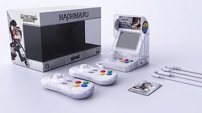 Einfach und sicher online bestellen: Neo Geo Mini Samurai Shodown weiß in Österreich kaufen.