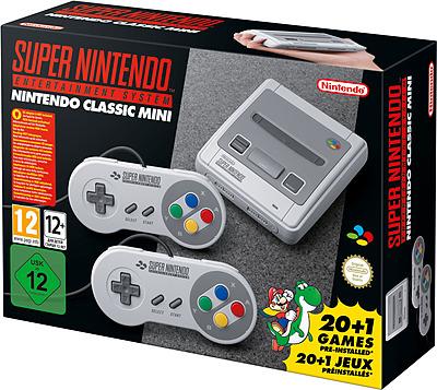 Einfach und sicher online bestellen: Nintendo Classic Mini: SNES-Konsole in Österreich kaufen.