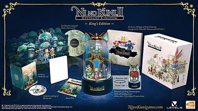 Einfach und sicher online bestellen: Ni No Kuni 2: Revenant Kingdom King's (OHNE SPIEL) in Österreich kaufen.