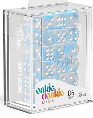 Einfach und sicher online bestellen: Oakie Doakie Dice W6 Glow in the Dark Arctic in Österreich kaufen.