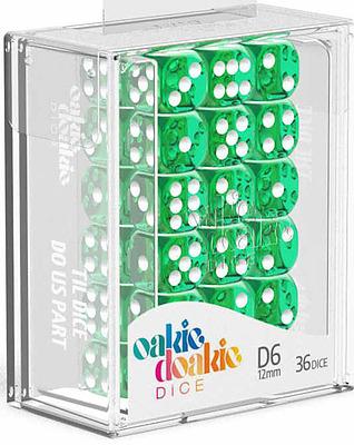 Einfach und sicher online bestellen: Oakie Doakie Dice W6 Würfel green in Österreich kaufen.