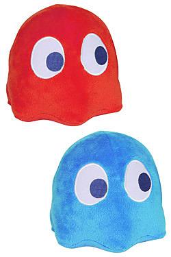 Einfach und sicher online bestellen: Pac-Man Plüschfigur Gespenst blau 10 cm mit Sound in Österreich kaufen.