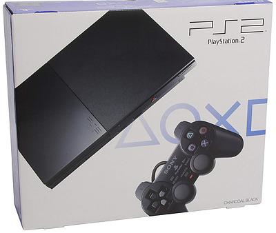 Einfach und sicher online bestellen: PlayStation 2 Slim black in Österreich kaufen.