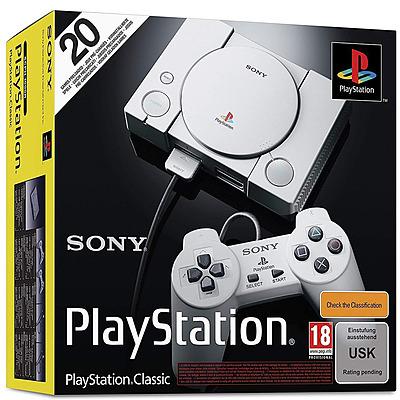 Einfach und sicher online bestellen: PlayStation Classic inkl. 20 Spiele + 2 Controller in Österreich kaufen.