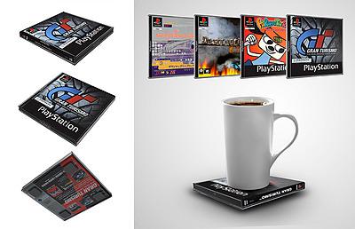 Einfach und sicher online bestellen: PlayStation Untersetzer Vol. 1 in Österreich kaufen.