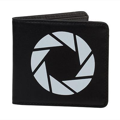 Einfach und sicher online bestellen: Portal 2 Leder-Geldbeutel Aperture Laboratories in Österreich kaufen.