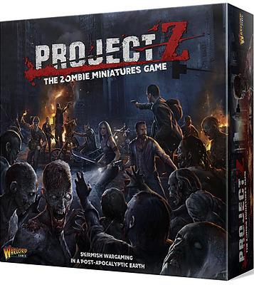 Einfach und sicher online bestellen: Project Z - The Zombie Miniatures Game (Englisch) in Österreich kaufen.