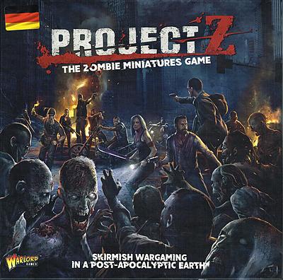 Einfach und sicher online bestellen: Project Z - Das Zombie Miniaturenspiel in Österreich kaufen.